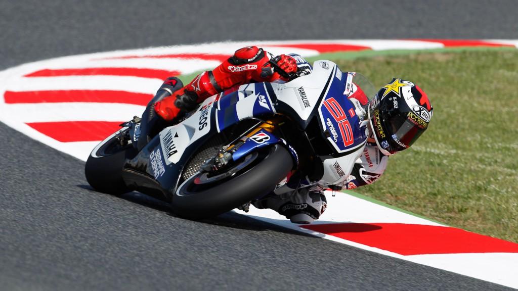 Jorge Lorenzo, Yamaha Factory Racing, Catalunya Circuit FP3