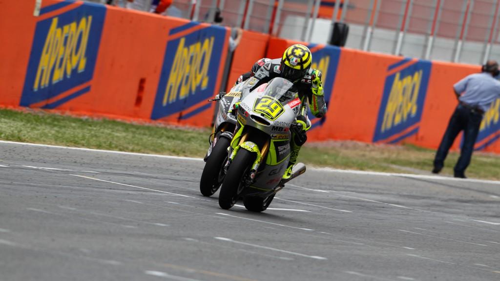 Andrea Iannone, Thomas Luthi, Speed Master, Interwetten-Paddock, Catlaunya Circuit RAC