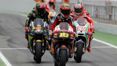 Bautista, Dovizioso, Hayden, San Carlo Honda Gresini, Monster Yamaha Tech 3, Ducati Team, Catalunya Circuit RAC