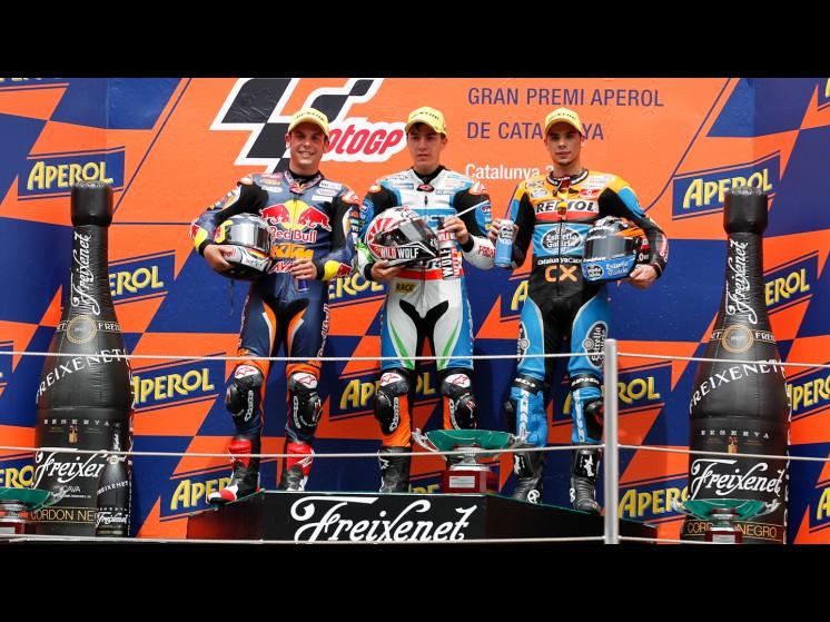 -Moto GP- Season 2012- - 11sandrocortese25maverickvinales44migueloliveiramoto3 slideshow