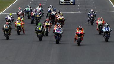 Catalunya 2012 - MotoGP - Race - Action - Race Start