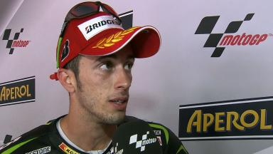 First Yamaha podium for Dovizioso