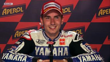 Catalunya 2012 - MotoGP - Race - Interview - Jorge Lorenzo