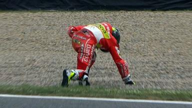 Catalunya 2012 - Moto2 - Race - Action - Toni Elias - Crash