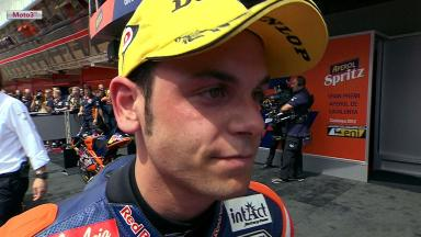 Catalunya 2012 - Moto3 - Race - Interview - Sandro Cortese