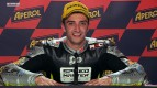 Catalunya 2012 - Moto2 - Race - Interview - Andrea Iannone