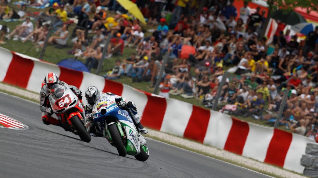 Mattia Pasini, Yonny Hernandez, Speed Master, Avintia Blusens, Catalunya Circuit RAC
