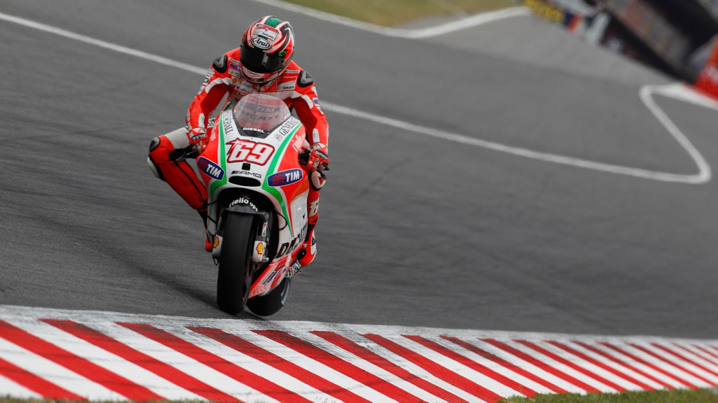 Nicky Hayden, Ducati Team, Catalunya Circuit RAC