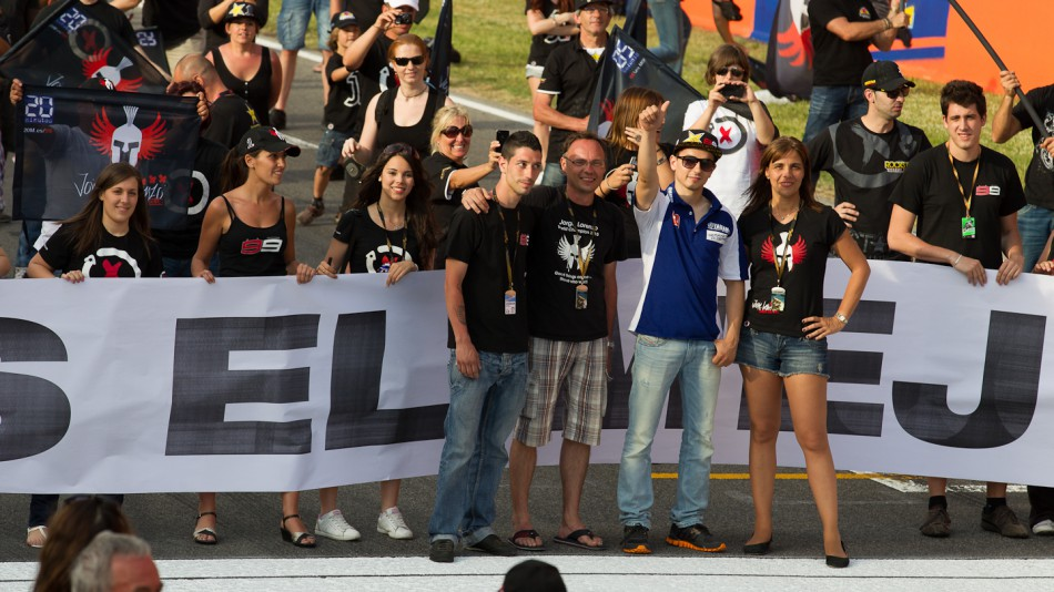 Jorge Lorenzo´s Fan Club, Catalunya Circuit