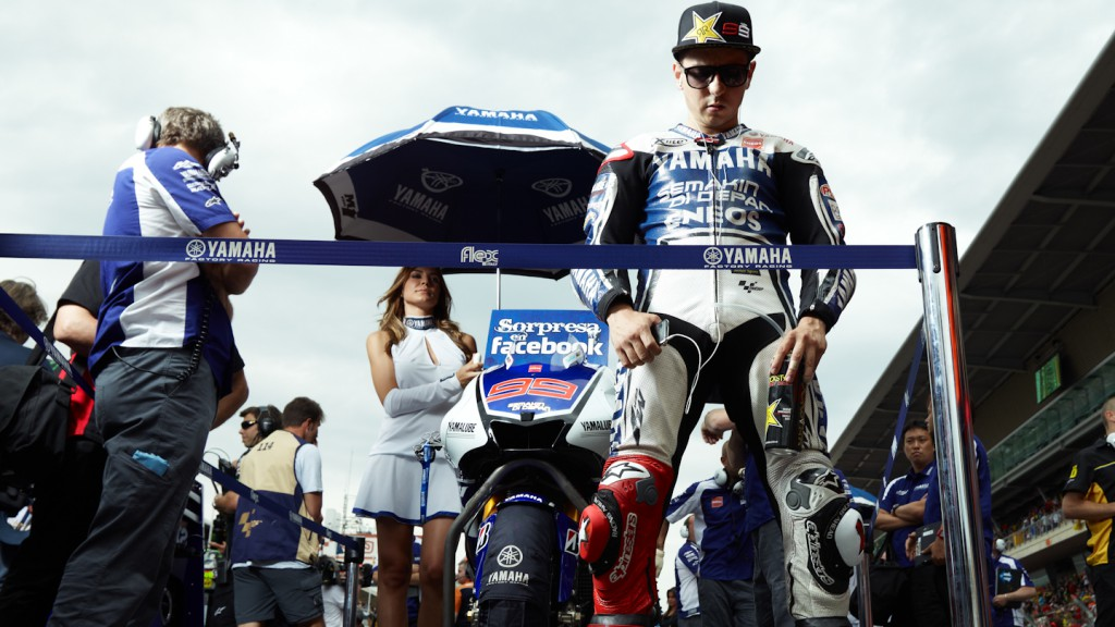 Jorge Lorenzo, Yamaha Factory Racing, Catalunya Circuit RAC - © Copyright Alex Chailan & David Piolé