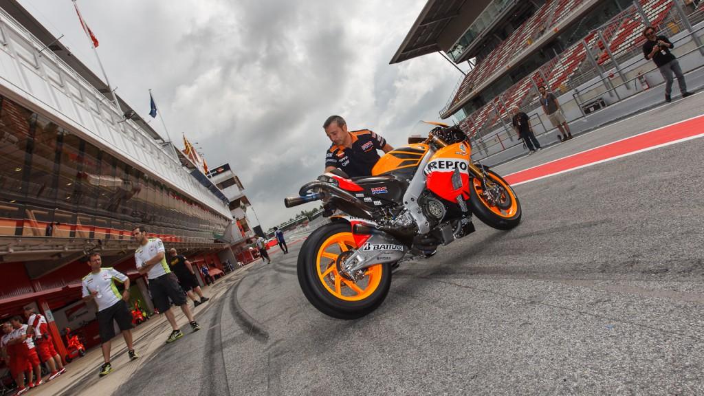 Casey Stoner, Repsol Honda Team, Catalunya Test