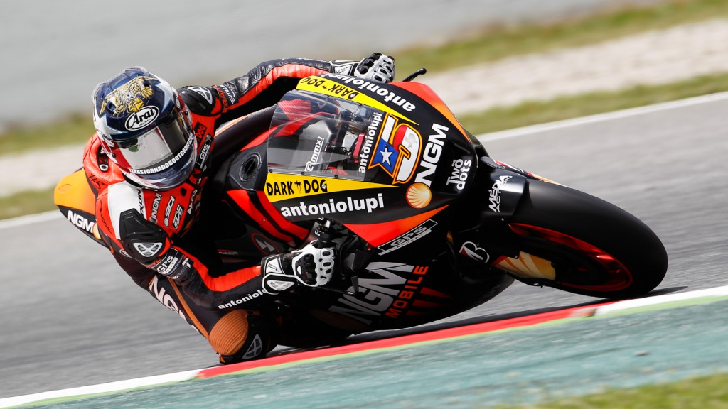 Colin Edwards, NGM Mobile Forward Racing, Catalunya Test