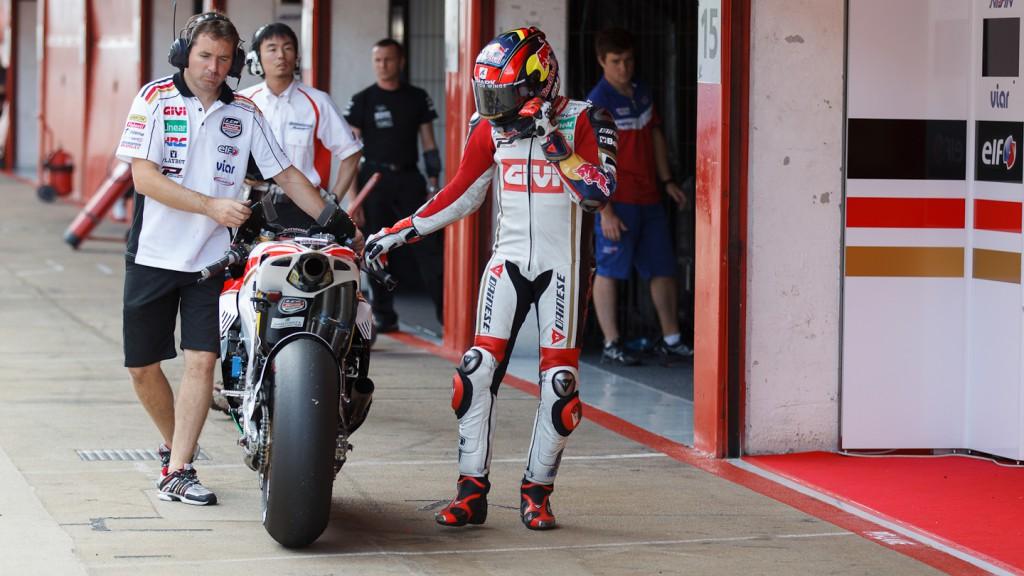 Stefan Bradl, LCR Honda MotoGP, Catalunya Test