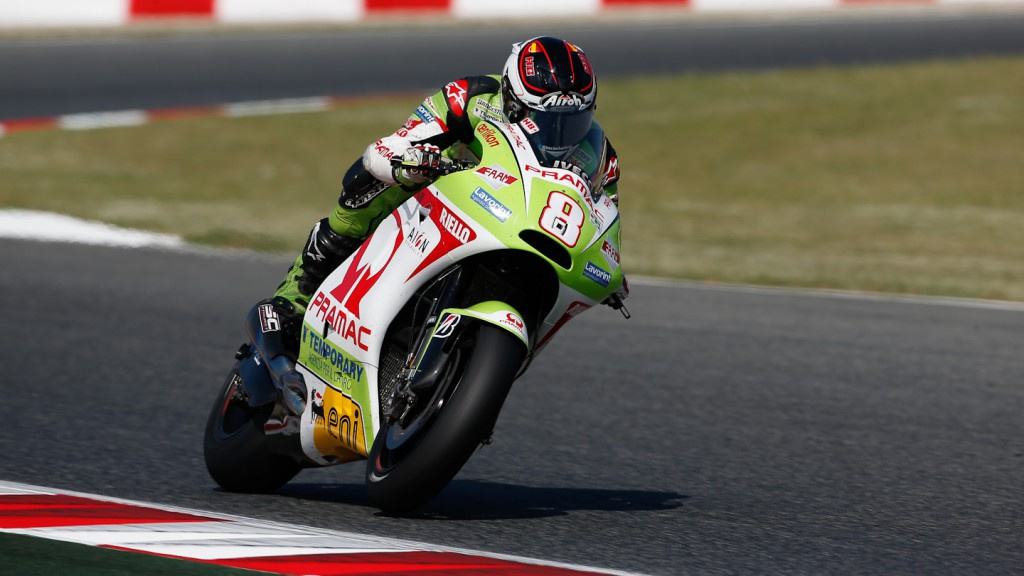 Hector Barbera, Pramac Racing Team, Catalunya Test