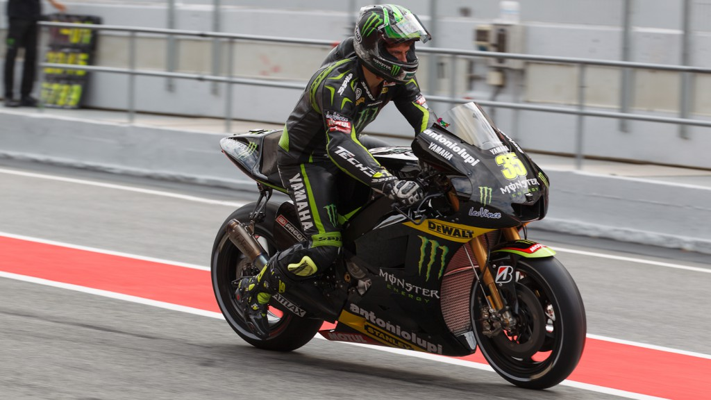 Cal Crutchlow, Monster Yamaha Tech 3, Catalunya Test
