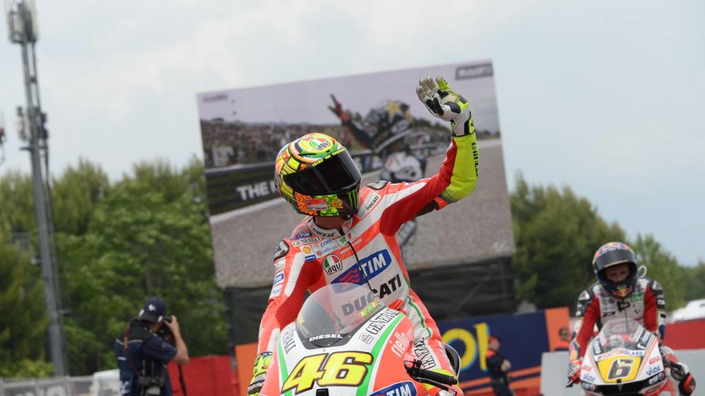 Valentino Rossi, Ducati Team, Catalunya Circuit RAC