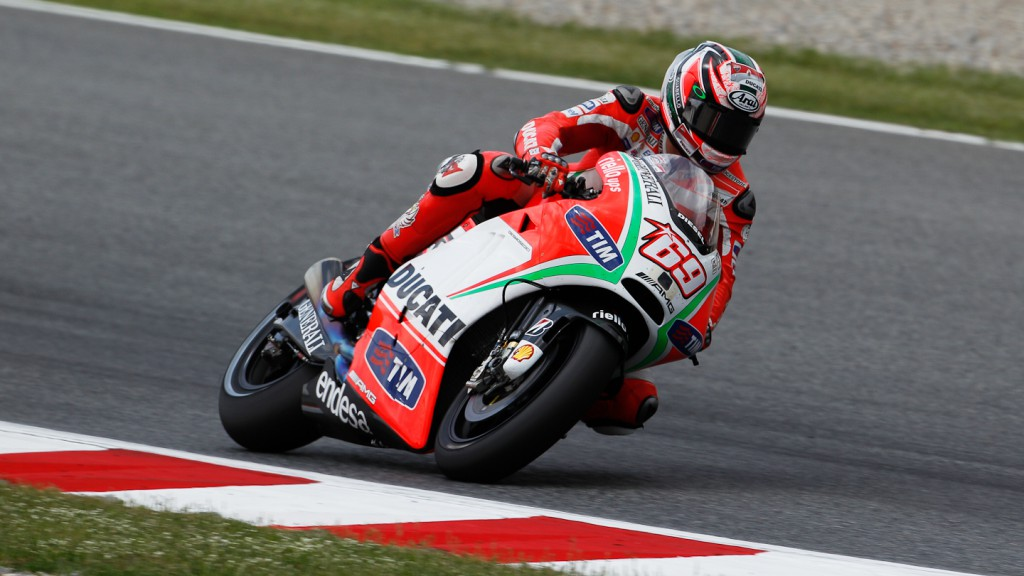 Nicky Hayden, Ducati Team, Catalunya Test