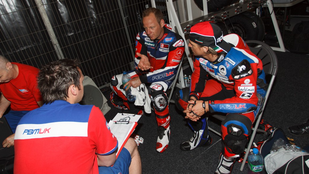 Shane Byrne, James Ellison, Paul Bird Motorsport