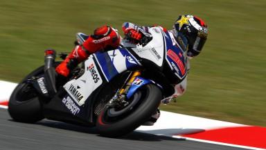 Jorge Lorenzo, Yamaha Factory Racing, Catalunya Test