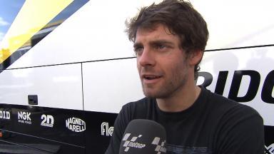 2012 - MotoGP - Test Aragon - Interview - Cal Crutchlow