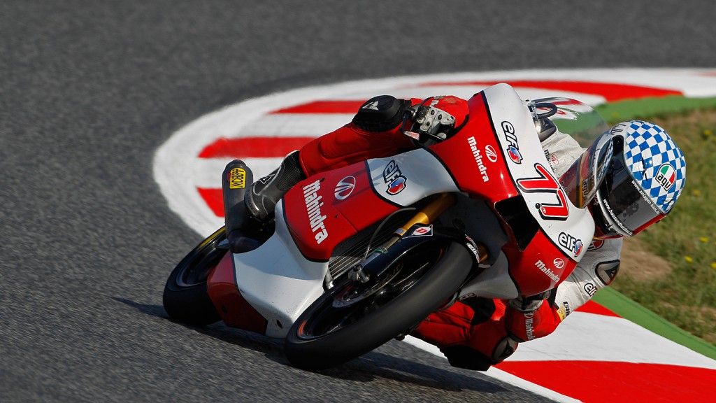 Marcel Schrotter, Mahindra Racing, Catalunya Circuit FP3