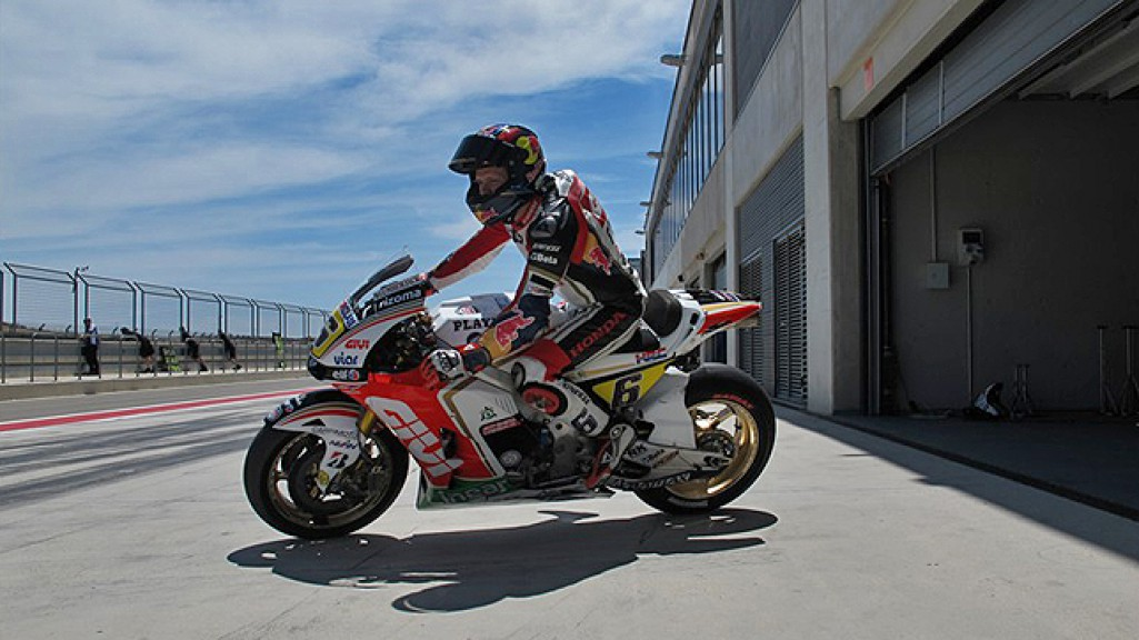 Stefan Bradl, LCR Honda MotoGP, MotorLand Aragon Official Test