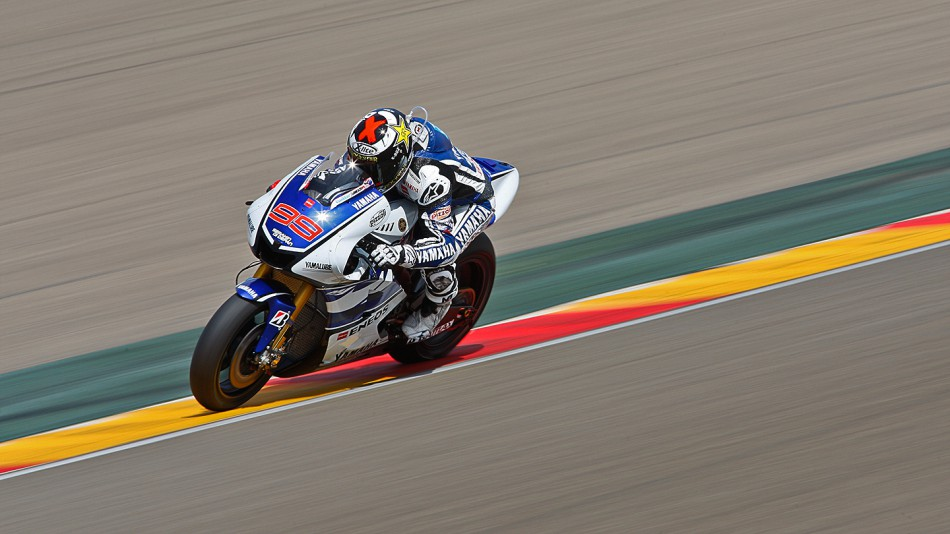 Jorge Lorenzo, Yamaha Factory Racing, MotorLand Aragon Official Test