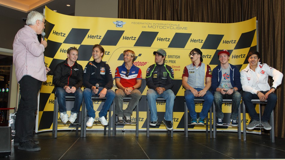 British Riders, Hertz British Grand Prix Preevent