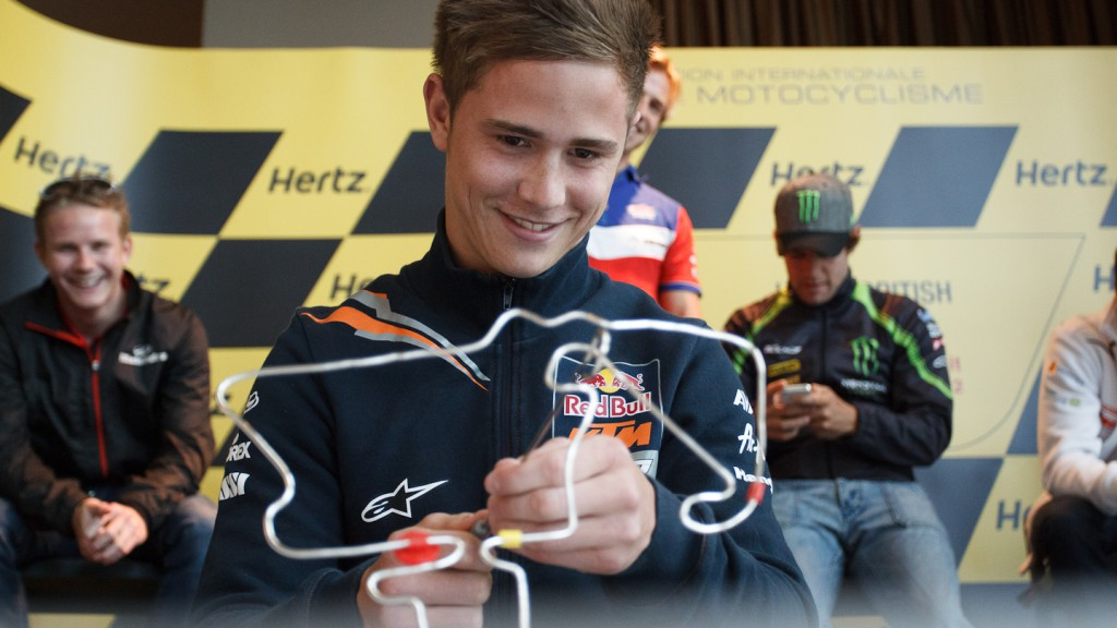 Danny Kent, Red Bull KTM Ajo, Hertz British Grand Prix Preevent