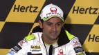 Silverstone 2012 - MotoGP - Pre-event - Press Conference - Hector Barbera