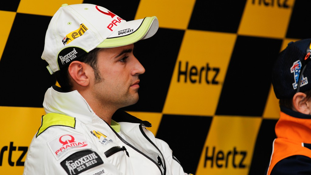 Hector Barbera, Pramac Racing team, Hertz British Grand Prix Press Conference