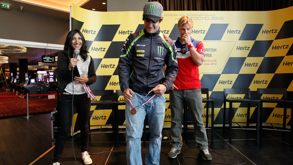Cal Crutchlow, Monster Yamaha Tech 3, Hertz British Grand Prix Preevent