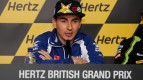 Jorge Lorenzo, Yamaha Factory Racing, Hertz British Grand Prix Press Conference