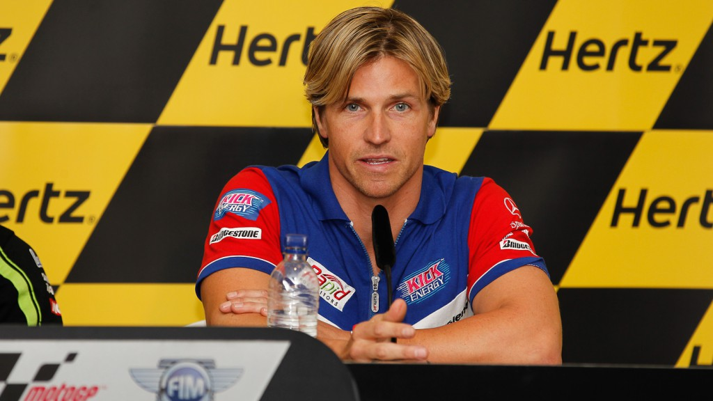James Ellison, Paul Bird Motorsport, Hertz British Grand Prix Press Conference