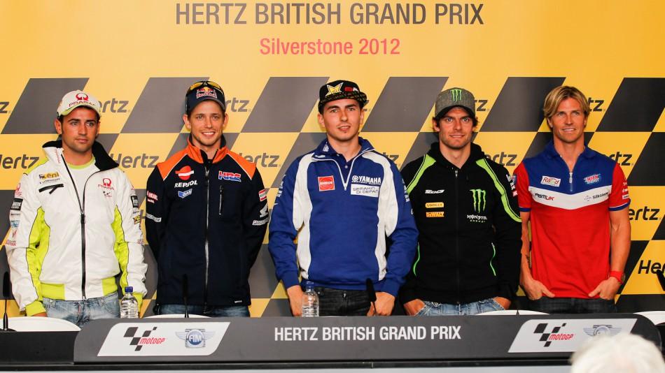 Hertz British Grand Prix Press Conference