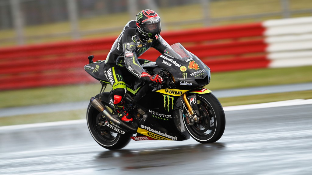 Andrea Dovizioso, Monster Yamaha Tech 3, Silverstone FP1