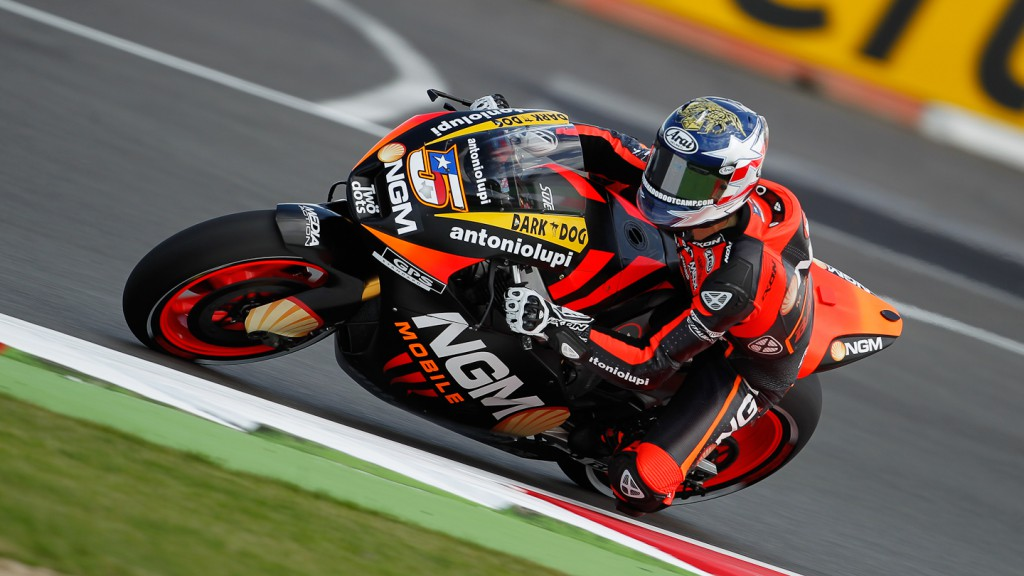 Colin Edwards, NGM Mobile Forward Racing, Silverstone FP2