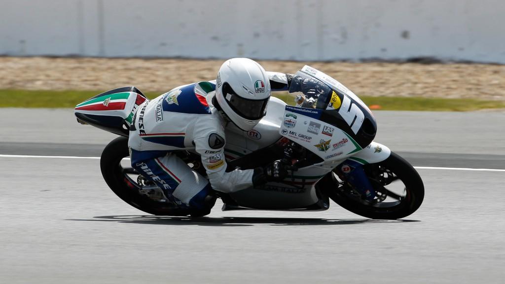 Romano Fenati, Team Italia FMI, Silverstone FP2