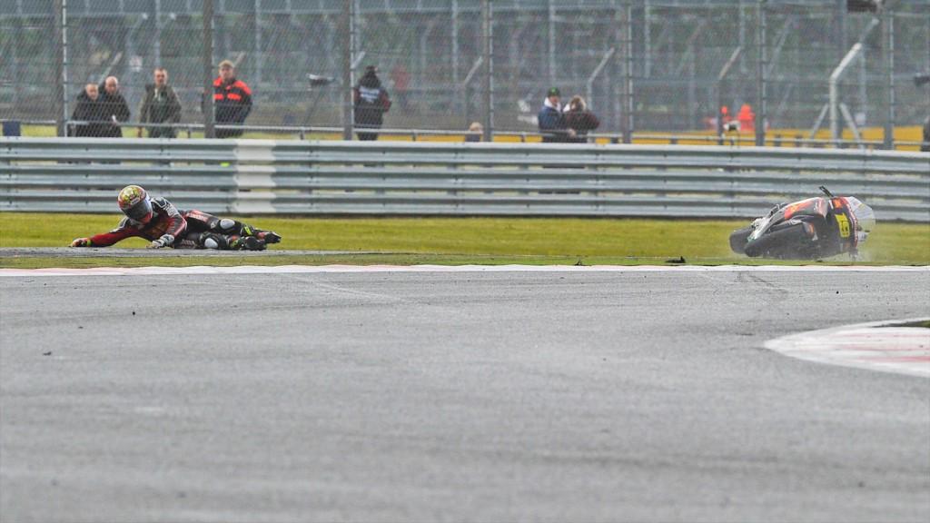 Alvaro Bautista, San Carlo Honda Gresini, Silverstone FP1
