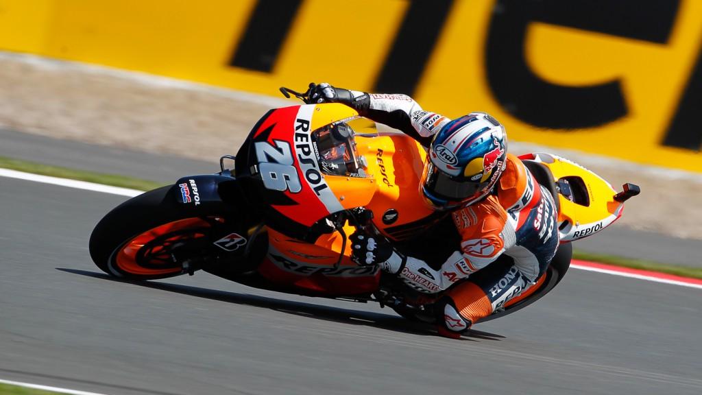 Dani Pedrosa, Repsol Honda Team, Silverstone FP2