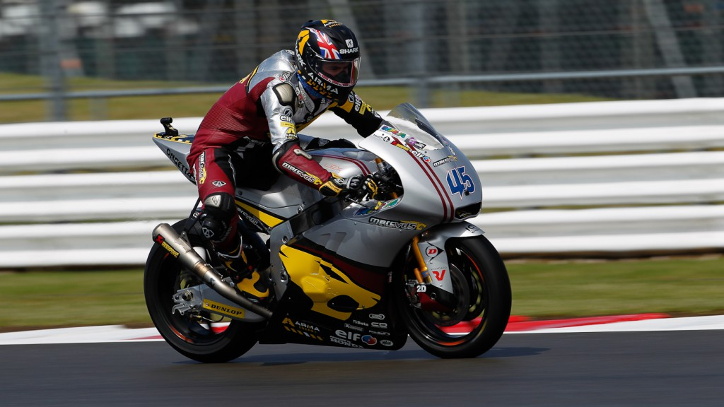 Scott Redding, Marc VDS Racing Team, Silverstone FP1