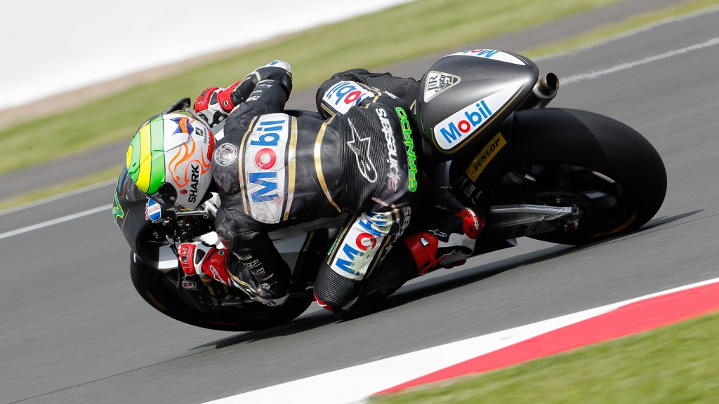 Eric Granado, JiR Moto2, Silverstone FP2