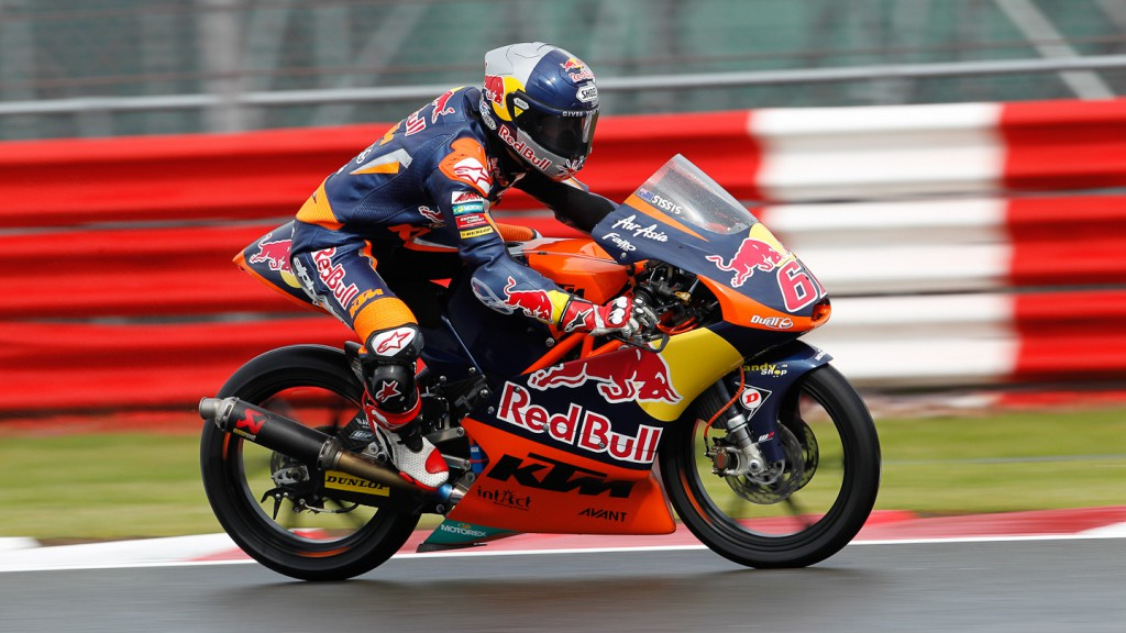 Arthur Sissis, Red Bull KTM Ajo, Silverstone FP1