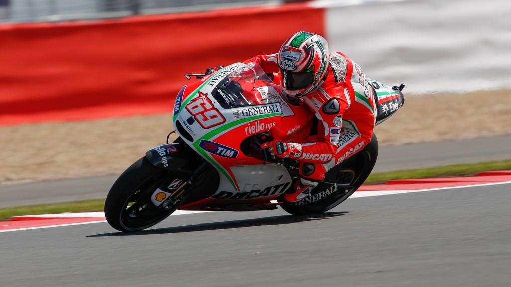 Nicky Hayden, Ducati Team, Silverstone FP2