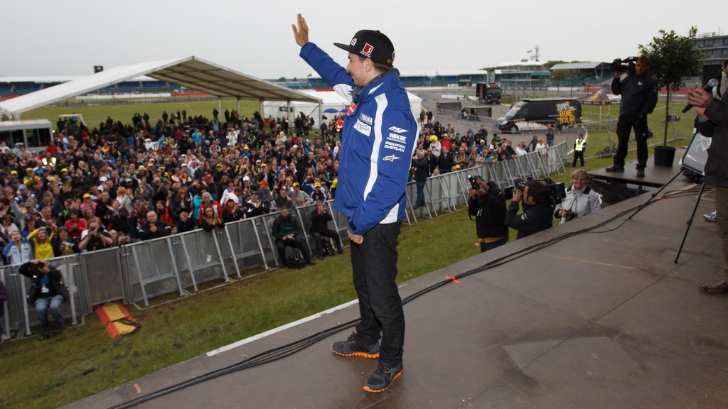 Jorge Lorenzo, Yamaha Factory Racing, Day Of Champions, Silverstone