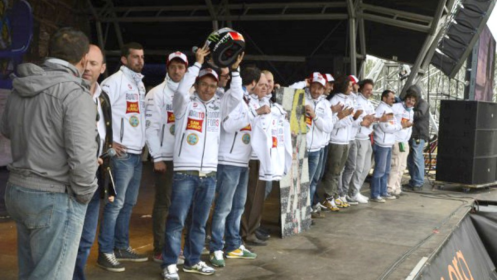 San Carlo Honda Gresini, Day of Champions, Silverstone