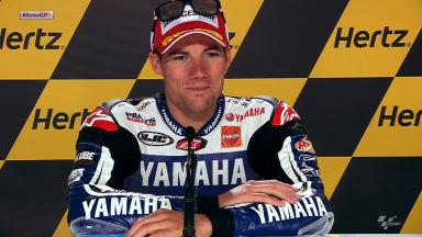 Silverstone 2012 - MotoGP - QP - Interview - Ben Spies