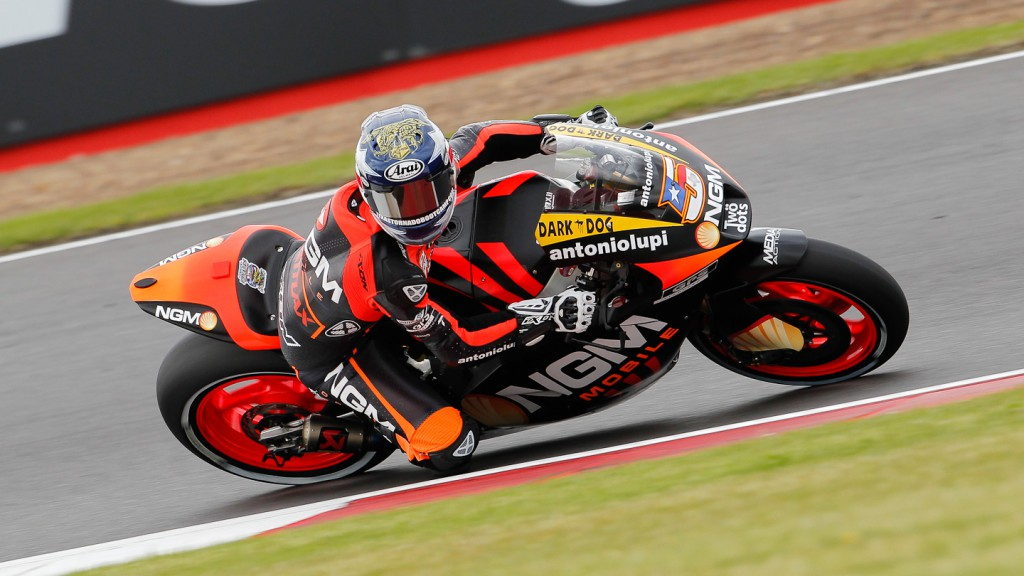 Colin Edwards, NGM Mobile Forward Racing, Silverstone QP