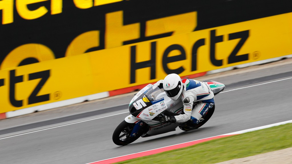 Romano Fenati, Team Italia FMI, Silverstone QP