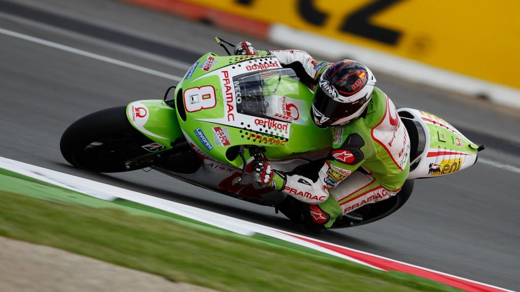 Hector Barbera Pramac Racing Team, Silverstone QP